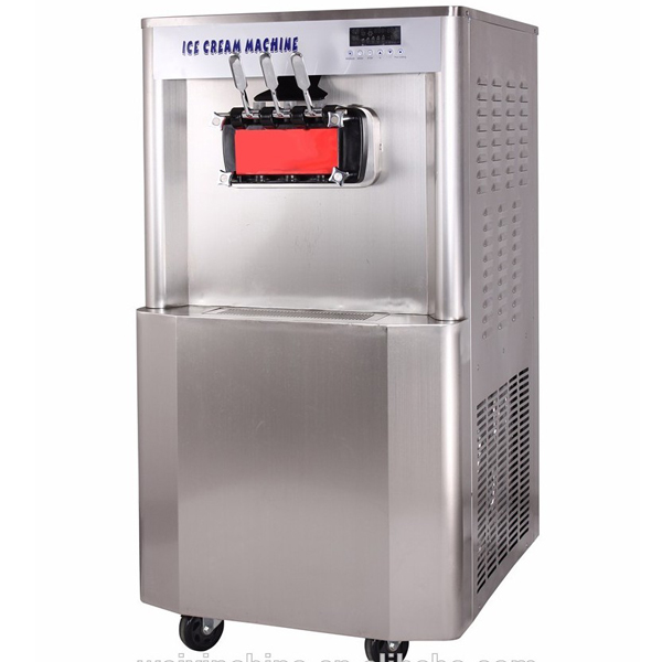 2+1 Mix Flavors Frozen Yogurt Machine