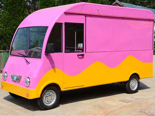 Pink Mobile Catering Food Truck